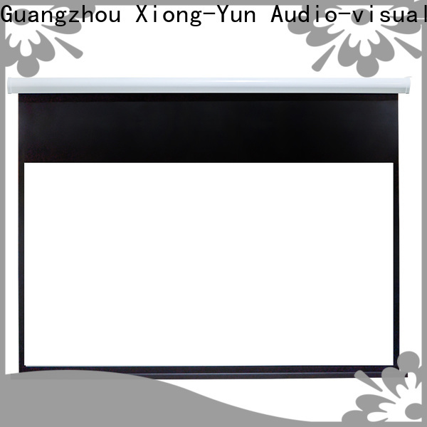 retractable Motorized Projection Screen wholesale for rooms