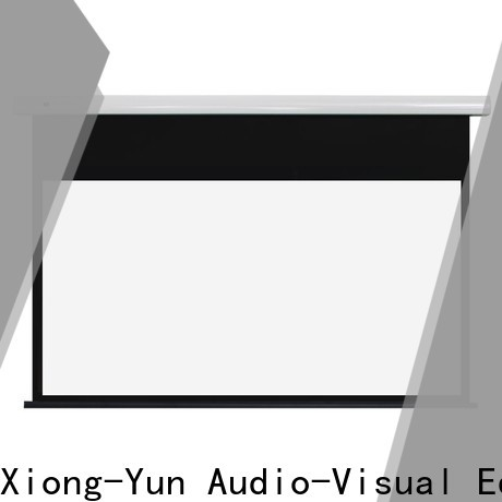XY Screens fixed projector screen with good price for home