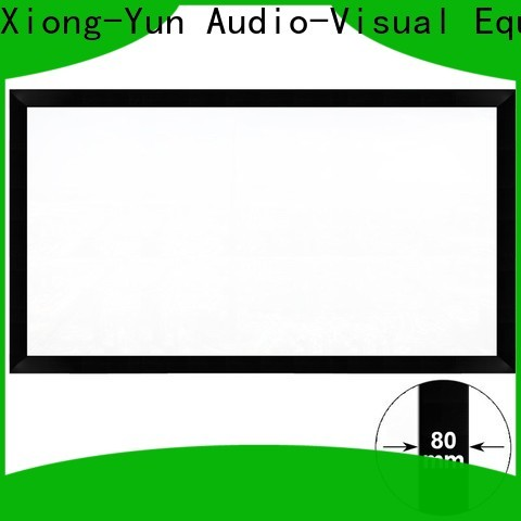 curved home theater projector screen wholesale for meeting room