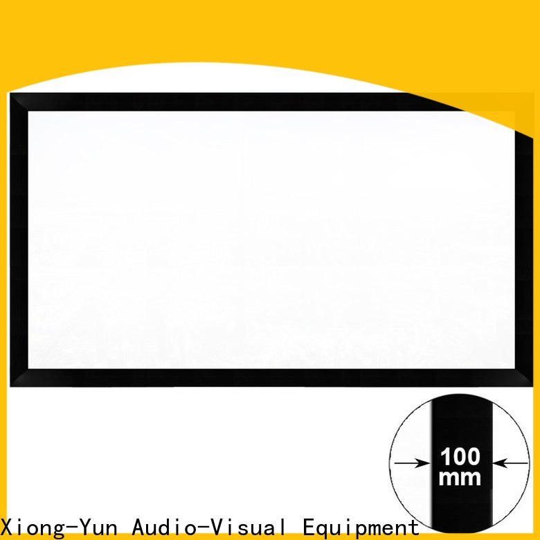 retractable home projector screen manufacturer for rooms