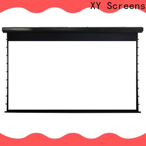 XY Screens motorized portable movie projector series for movies