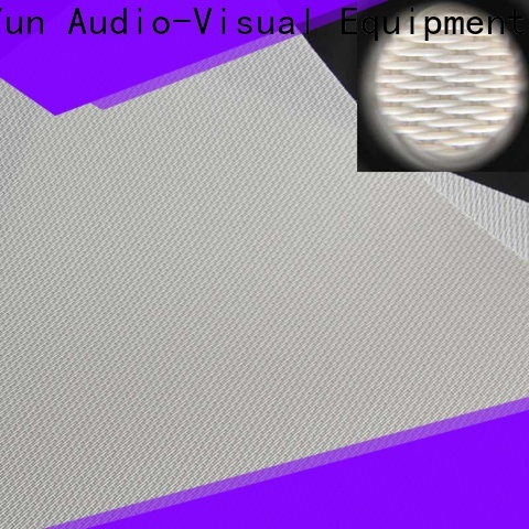 perforating Acoustically Transparent Fabrics directly sale for fixed frame projection screen