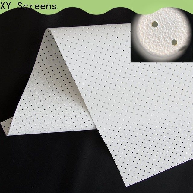 XY Screens best acoustically transparent screen series for thin frame projector screen