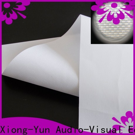 XY Screens projector screen fabric factory for motorized projection screen