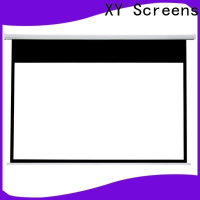 XY Screens intelligent motorized projector screen wholesale for rooms