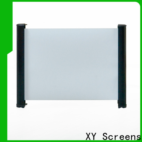XY Screens tabletop projector screens factory price for living room