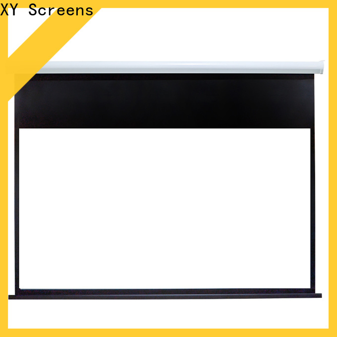 XY Screens stable Home theater projection screen personalized for theater