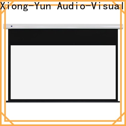 stable electric projector screen personalized for theater