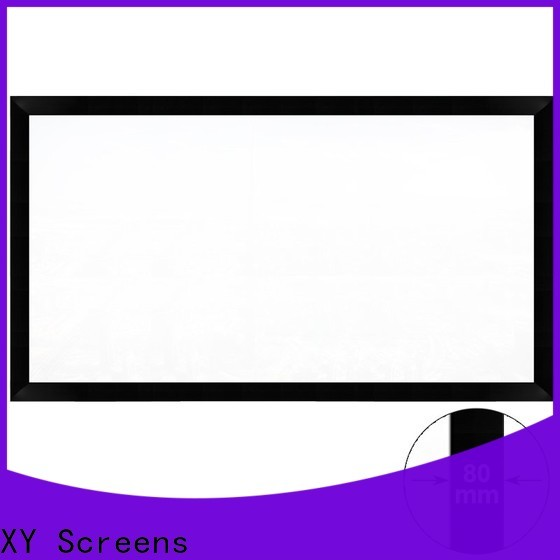 XY Screens curved home theater projector screen supplier for home