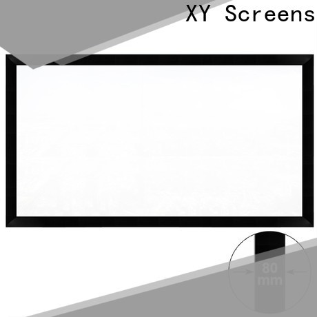 XY Screens home theater projector screen personalized for meeting room