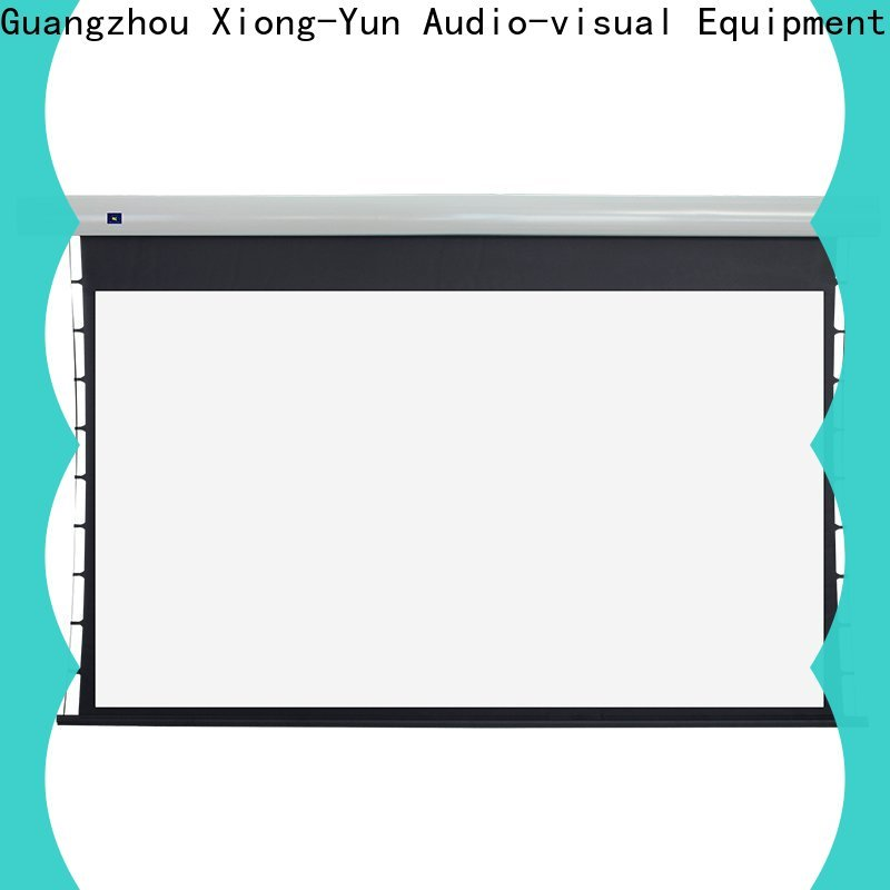 XY Screens tensioned projector screen supplier for household