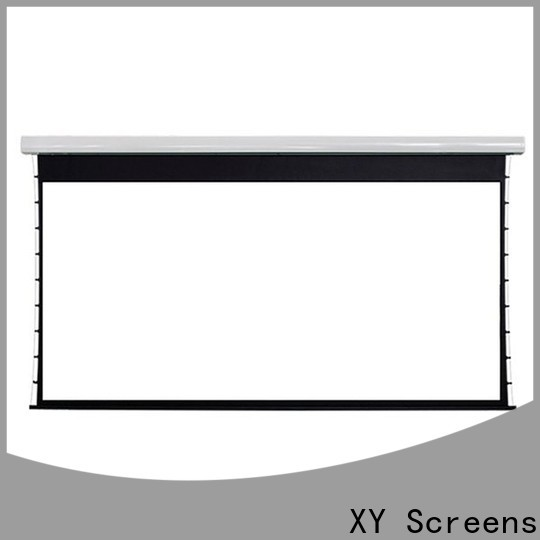 XY Screens normal large portable projector screen customized for television
