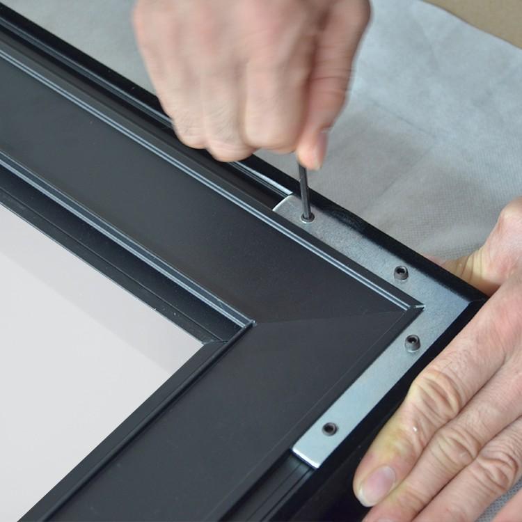 product-XY Screens-Thin Bezel HD Home Theater Projector Screen ZHK100B Series-img