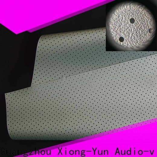 XY Screens acoustically transparent screen material customized for thin frame projector screen