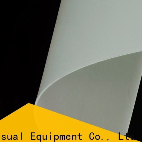 acoustically Rear Fabrics design for projector screen