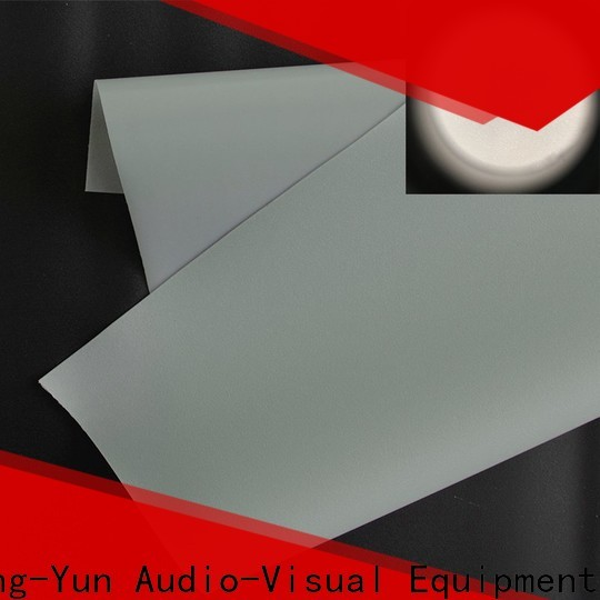 XY Screens rear projection fabric inquire now for thin frame projector screen