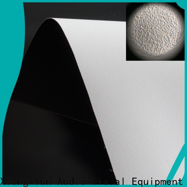 XY Screens hard screen front fabrics with good price for fixed frame projection screen