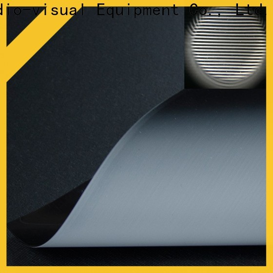 standard best projector screen material manufacturer for motorized projection screen