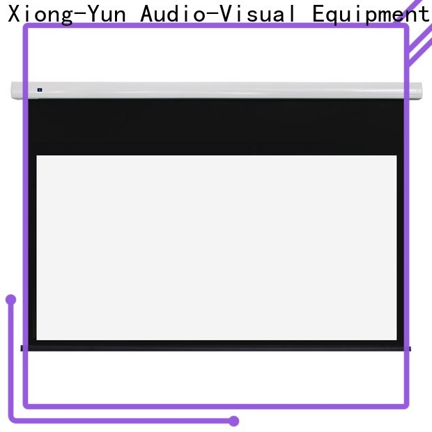 XY Screens motorized hd projector screen factory for home
