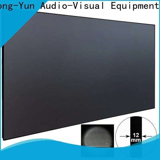 XY Screens ultra short throw projector screen series for computer