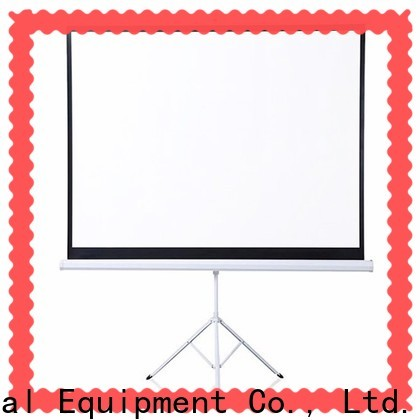 XY Screens environmentally tripod screen personalized for meeting room