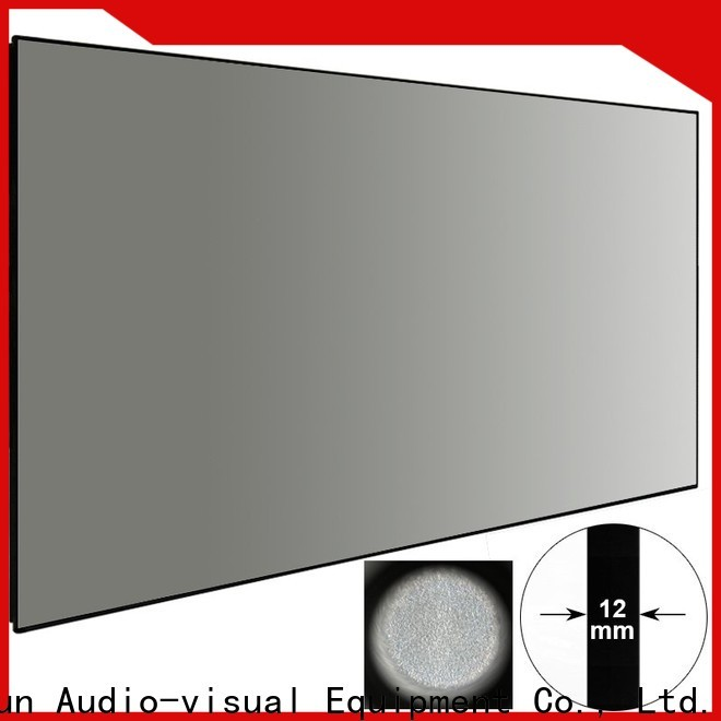 XY Screens Ambient Light Rejecting Projector Screen factory price for home