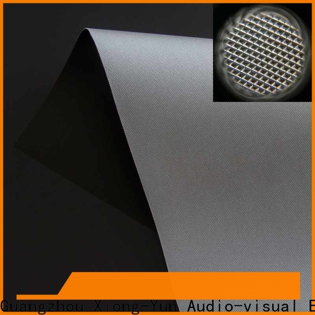professional projector cloth from China for fixed frame projection screen