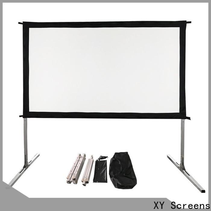 retractable outdoor video projector supplier for park