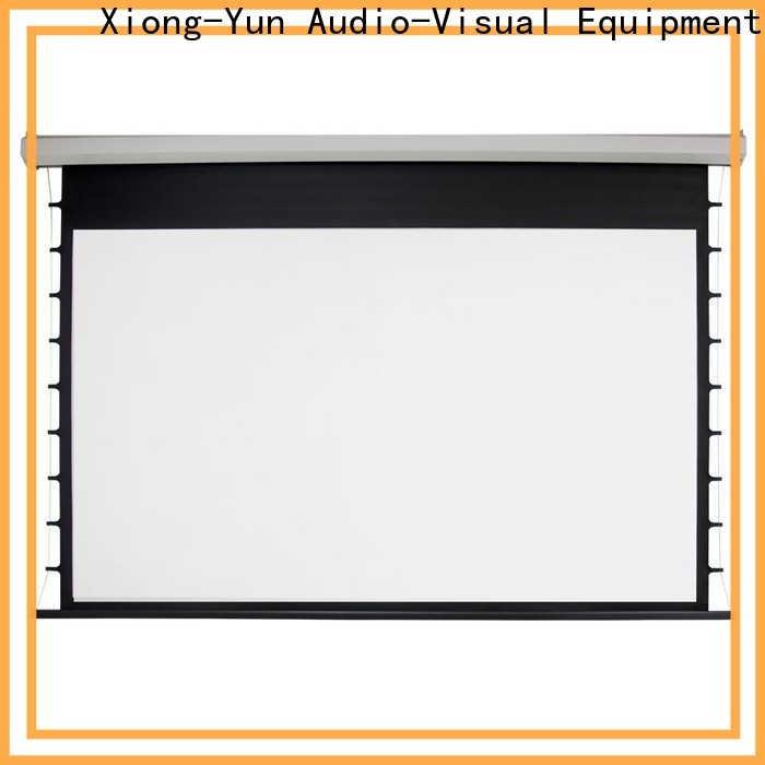 stable motorized screens personalized for theater
