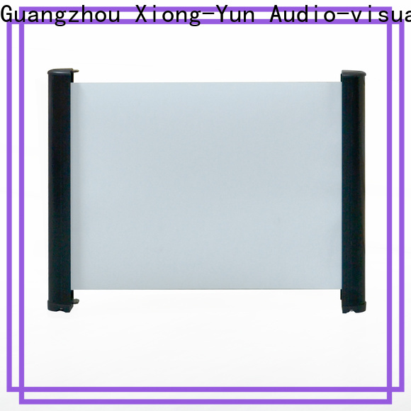 stable table top screen personalized for household