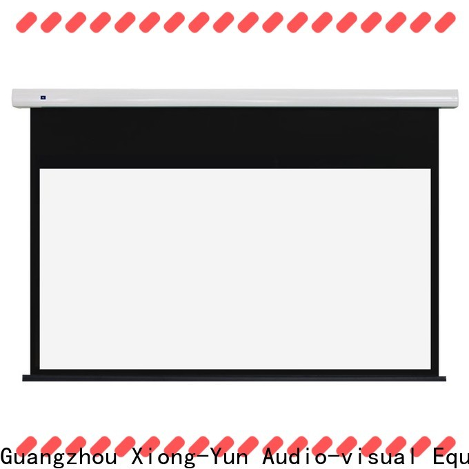 intelligent electric projector screen wholesale for home