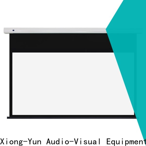 XY Screens inceiling fixed projector screen factory for living room