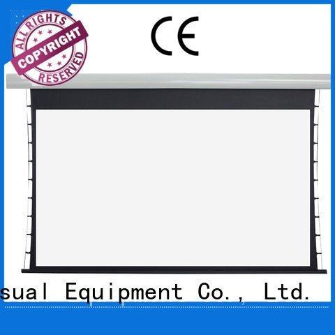 Wholesale motorized ec1 Tab tensioned series XY Screens Brand