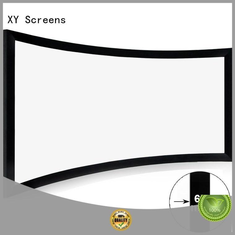 XY Screens Brand screen cinema theater custom home entertainment projector