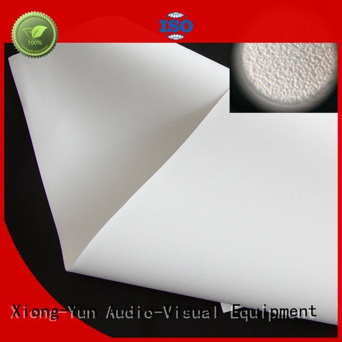 XY Screens Brand matte fh201 wg1 front and rear fabric silver