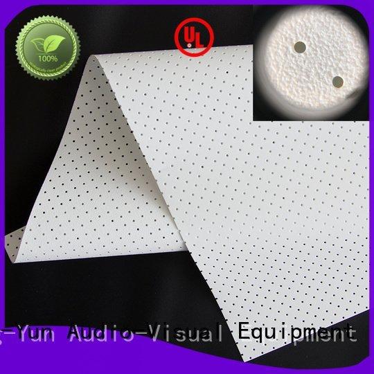 Wholesale transparent mfs1 Acoustically Transparent Fabrics XY Screens Brand