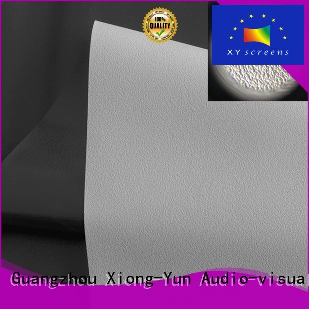 gray quality XY Screens Brand front and rear fabric