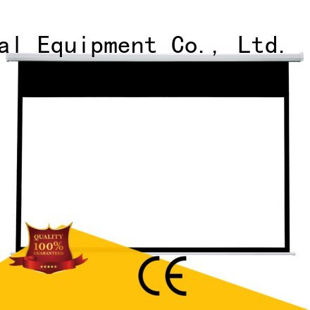 inch Motorized Retractable Projector Screen 140180 projector