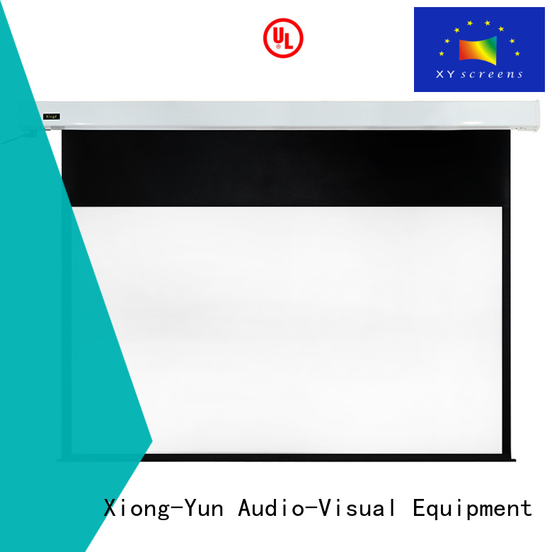 large projector screen ec150 screen 140180 XY Screens Brand company