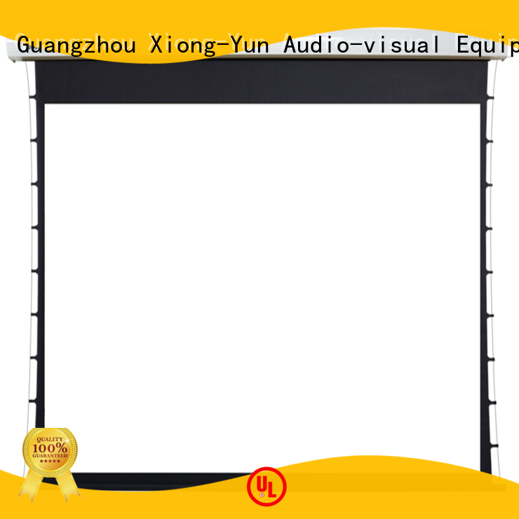 XY Screens Motorized Projection Screen supplier for rooms