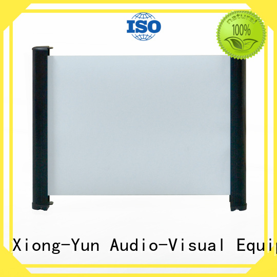 simple tabletop mobile tabletop projector screens equipment XY Screens