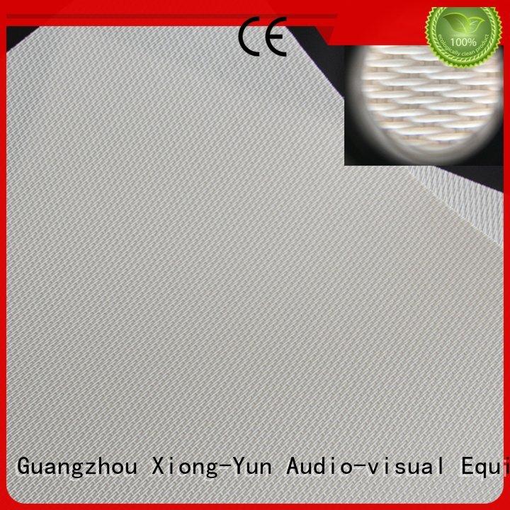 4k Acoustically Transparent Fabrics max2 woven XY Screens