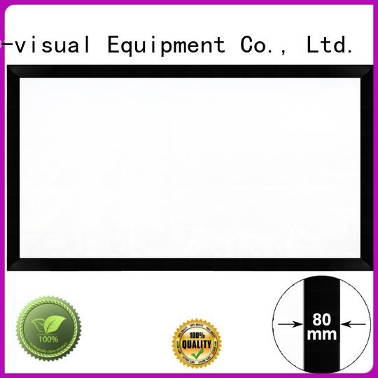 XY Screens Brand inch fixed frame movie projector screen projection