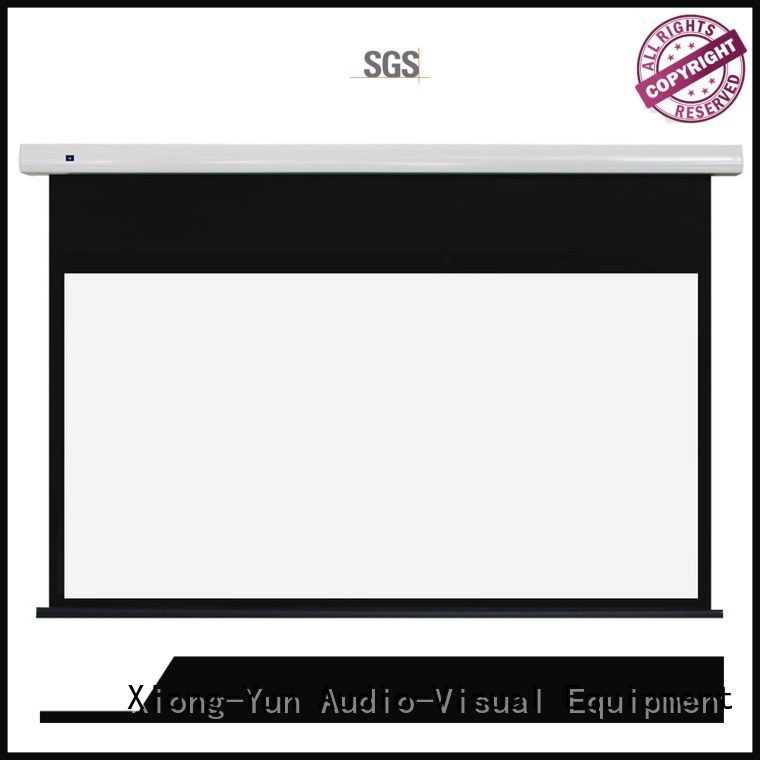XY Screens curved Motorized Projection Screen inquire now for home