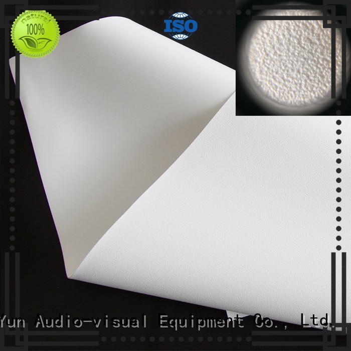 white HD home theater projection screens with soft PVC fabric matte for projector screen XY Screens