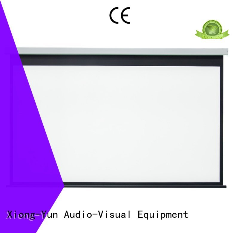 Electric Drop Down Movie Screen retractable e300a XY Screens Brand