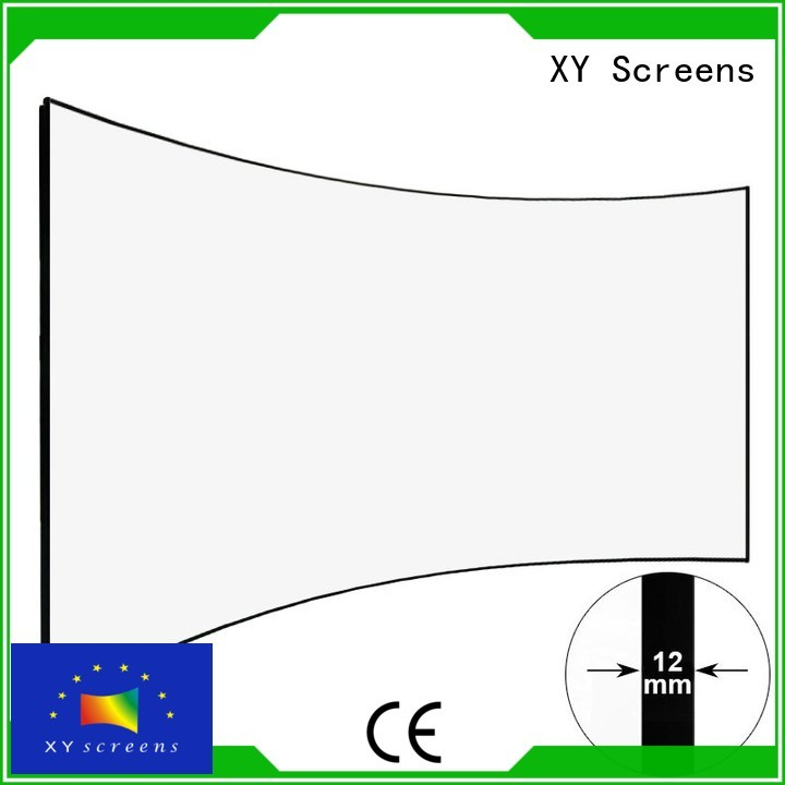XY Screens Brand hd home entertainment projector curved supplier
