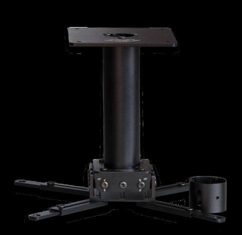 XY Screens projector floor mount series for television-3