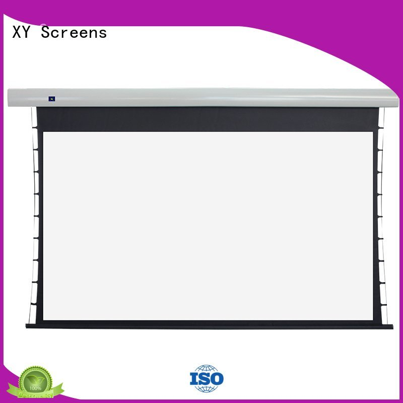 tabtensioned screen motorized XY Screens tab tensioned electric projector screen