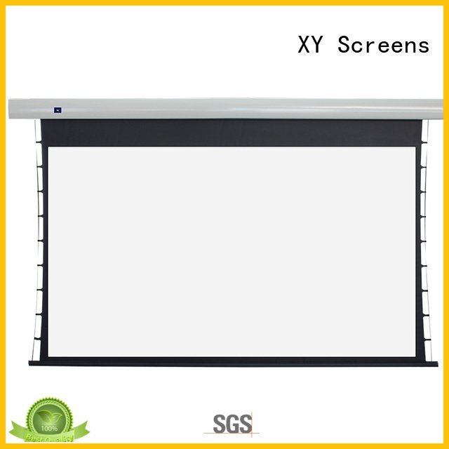 tab tensioned electric projector screen series motorized ec2 projection Bulk Buy